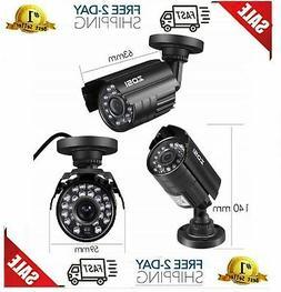 "ZOSI 1/3"" 700TVL CMOS 4.6mm IR Cut Color Security Camera Sur"