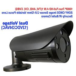 101AV 1080P True Full-HD Security Bullet Camera 4IN1 2.1Mega