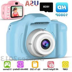 "1080P Digital Camera 2.0"" LCD HD Mini Camera With 16G TF Car"
