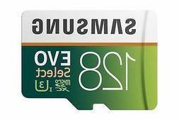 Samsung 128GB100MB/s EVO Select Micro SDXC Memory Card  w/Ad