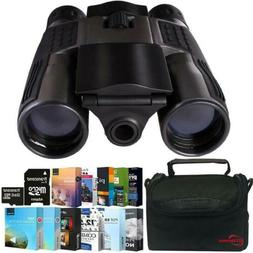 Vivitar 12x25 Binoculars - Built-in Digital Camera with Phot