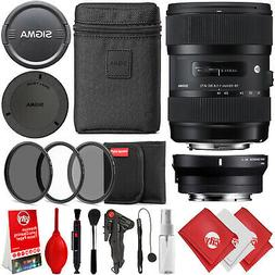Sigma 18-35mm f/1.8 DC HSM Art Lens for Sony E & Canon EF Mo