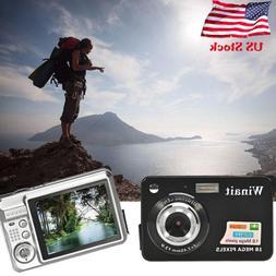 18MP CMOS HD 720P 2.7 inch TFT LCD Screen Digital Camera Ant