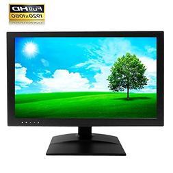 "1stPV 21.5"" True Full HD LED Security Monitor HDMI & VGA /"