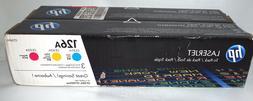 2-HP 126A MAGENTA YELLOW GENUINE OEM, TONER Cartridges,CP102