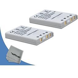2 High Capacity Replacement Nikon EN-EL5 Batteries for Nikon