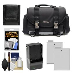 Canon 200DG Digital SLR Camera Case - Gadget Bag with 2 LP-E