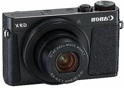 Canon 2017 Compact Digital Camera PSG9X Mark II Black DIGIC7