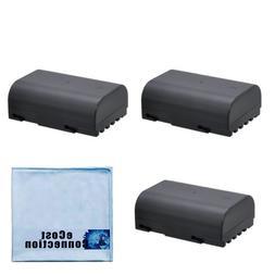 3 D-LI90 2900mAh Li-Ion Rechargeable Batteries for Pentax K-