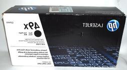 HP 49X  BLACK Toner Cartridge HIGH VOLUME, SEALED LASERJET 1