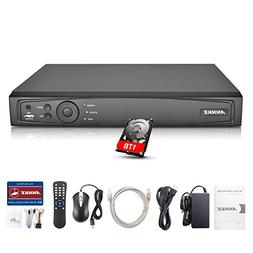 Annke 1080P 4CH NVR Network Video Recorder with 1TB Hard Dri
