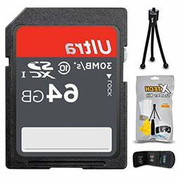 64GB SD Memory Card for Canon Digital Cameras