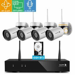 Kittyhok 1080p HD H.265 Pan Tilt Wireless Security Camera S