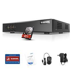 ANNKE 8CH Surveillance Camera System 1080P Lite DVR Recorder