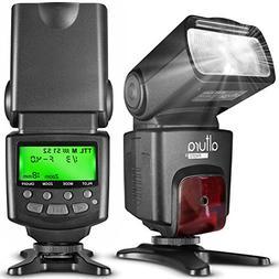 Altura Photo AP-C1001 Speedlite Flash for Canon DSLR Camera