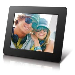 Aluratek  8 Inch Digital Photo Frame - Black