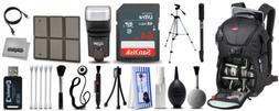Deluxe Backpack + Photography Accessory Kit for Sony a 5100