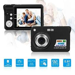 Digital Camera with 2.7 Inch TFT LCD Display Microphone, 18.