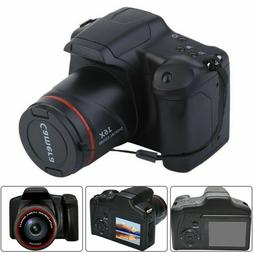 Digital SLR Camera 3 Inch TFT LCD Screen HD 16MP 1080P 16X Z