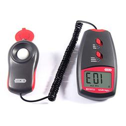 Dr.meter LX1010B Digital Illuminance/Light Meter, 0-100,000