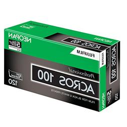 Fujifilm 102918 Neopan Black and White Negative 120 mm Film,