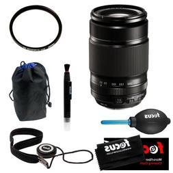 Fujifilm XF 55-200mm F3.5-4.8 Zoom Lens + Tiffen 62mm UV Pro