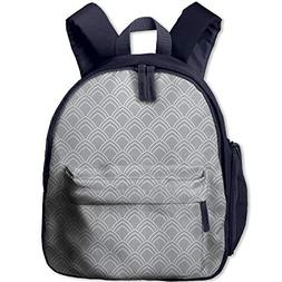 Haixia Teen's Boy's&Girl's School Backpack with Pocket Geome