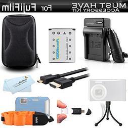 Must Have Accessory Kit For Fuji Fujifilm FinePix XP80, XP90