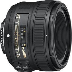 Nikon 50mm f/1.8G Auto Focus-S NIKKOR FX Lens -