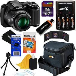 Nikon COOLPIX L340 20.2 MP Digital Camera with 28x Zoom NIKK