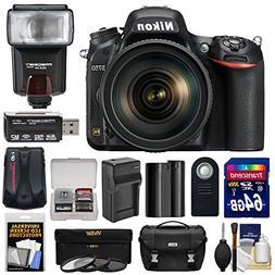 Nikon D750 Digital SLR Camera & 24-120mm f/4 VR Lens with 64