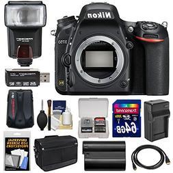 Nikon D750 Digital SLR Camera Body with 64GB Card + Battery