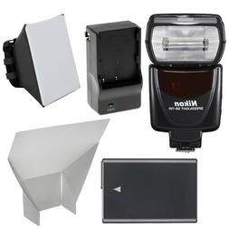 Nikon SB-700 AF Speedlight Flash with EN-EL14 Battery & Char