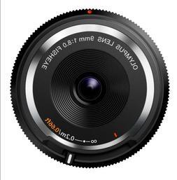 Olympus 9mm f8.0 Fisheye Body Cap Lens BCL-0980 for Micro 4/