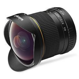 Opteka 6.5mm f/3.5 HD Aspherical Fisheye Lens & Removable Ho