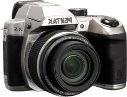 Pentax X-5 silver 16 Digital Camera with 26x Optical Image S