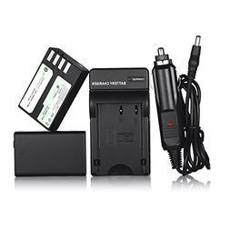Powerextra 2 Pack Replacement Pentax D-LI109 Li-ion Battery