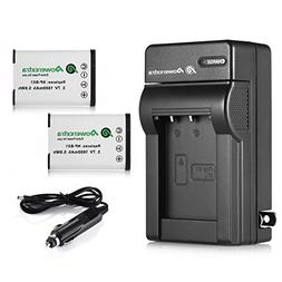 Powerextra 2 Pack Replacement Sony NP-BX1 Li-ion Battery and