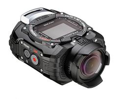 Ricoh WG-M1 Black Waterproof Action Video Camera with 1.5-In