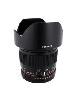 Rokinon 10mm F2.8 ED AS NCS CS Ultra Wide Angle Lens for Oly