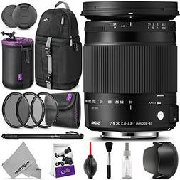 Sigma 18-300mm F3.5-6.3 Contemporary DC Macro OS HSM Lens fo