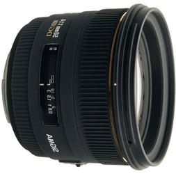 Sigma 50mm f/1.4 EX DG HSM Lens for Nikon Digital SLR Camera