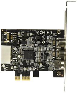 Syba SY-PEX30016 3 Port Firewire 1394B & 1394A PCIe 1.1 x1 C