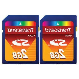 Transcend 2 GB SD Flash Memory Card