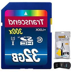 Transcend 32GB High Speed Memory Card KIT for PANASONIC Lumi