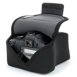 USA Gear Digital DSLR Camera Case Holster Sleeve with Protec