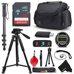 Ultimate SONY Digital Camera ACCESSORIES Kit for SONY Cyber-