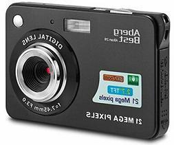 "AbergBest 21 Mega Pixels 2.7"" LCD Rechargeable HD Digital Ca"