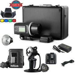 Godox AD600BM Outdoor Strobe Flash +Off-Camera Flash Head +
