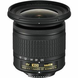 Nikon AF-P DX 10-20mm F/4.5-5.6G VR Lens *NEW* *IN STOCK*